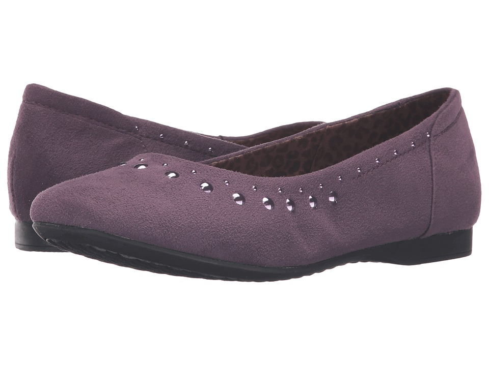 Hush Puppies - Meila Callies (Plum Perfect Microfiber) Women