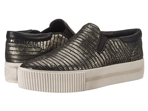 ASH - Karma (Annickel/Black Antik Tejus Metal) Women's Slip on Shoes