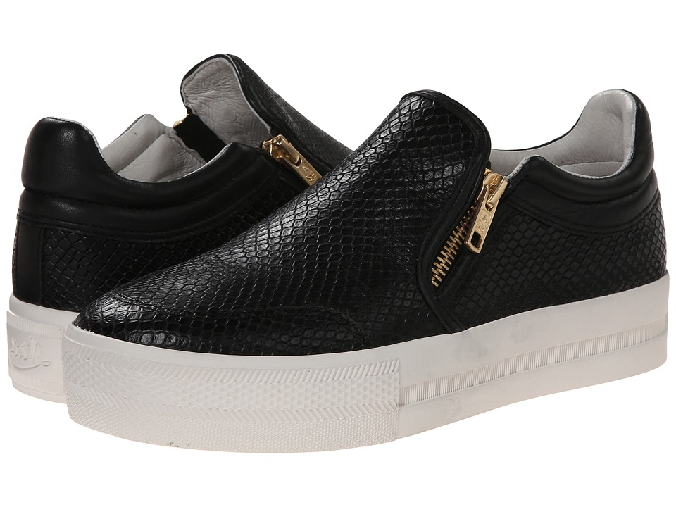 ASH - Jordy (Black/Black Pitone Cut/Nappa) Women's Shoes