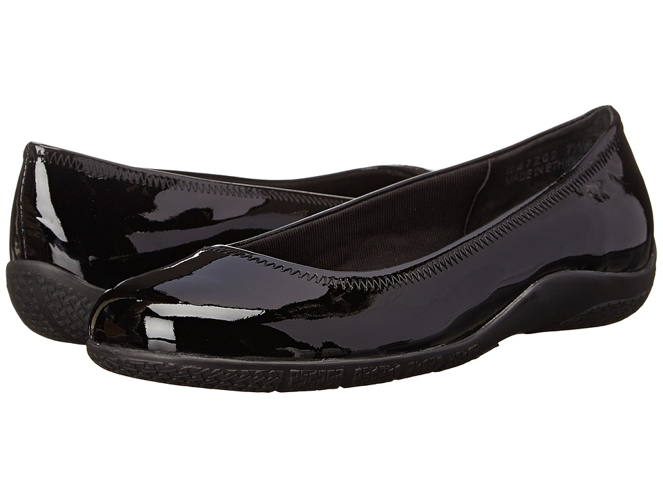 Walking Cradles Dee (Black Patent) Women