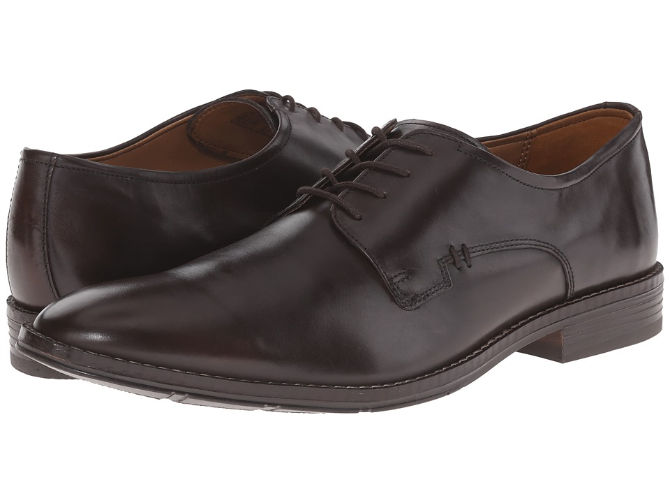 Hush Puppies - Albert Bronson (Brown Leather) Men's Shoes