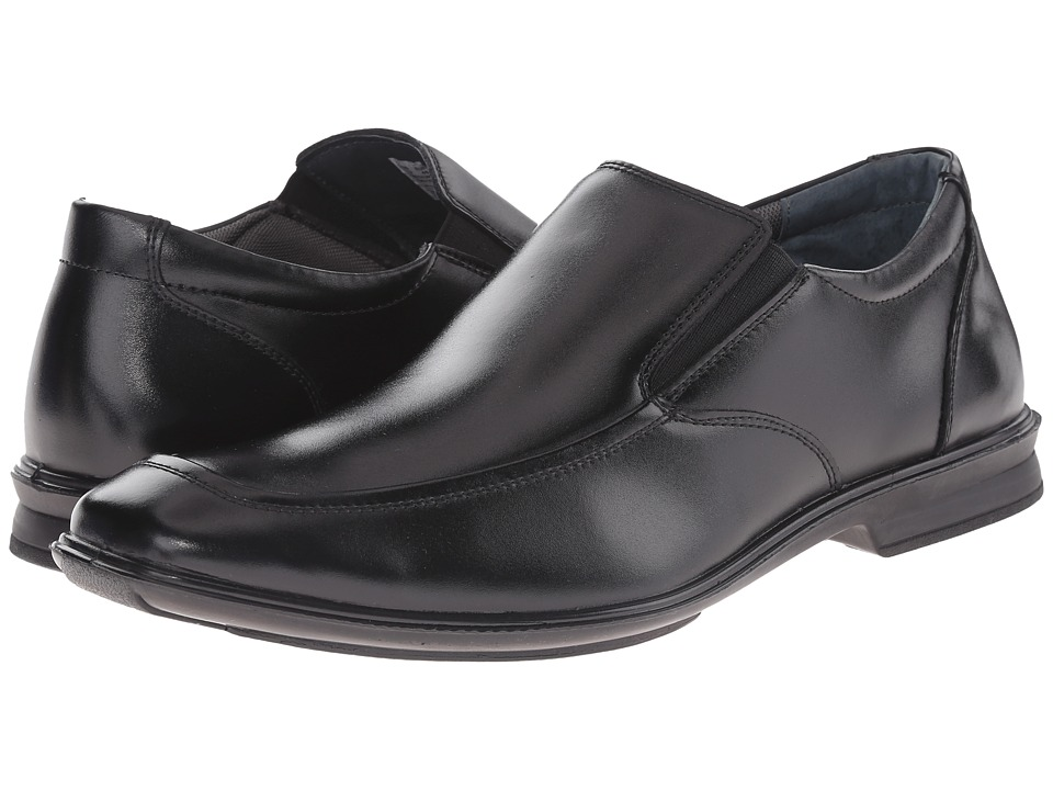 Hush Puppies - Gravity Slip-On MT IIV (Black Leather) Men