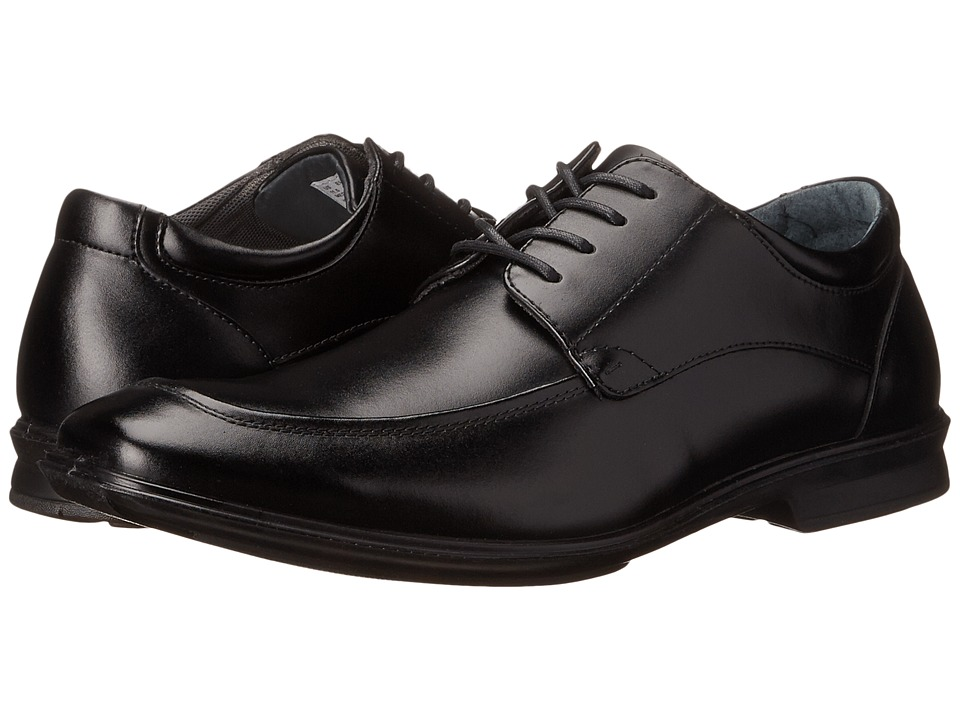 Hush Puppies - Gravity Oxford MT IIV (Black Leather) Men