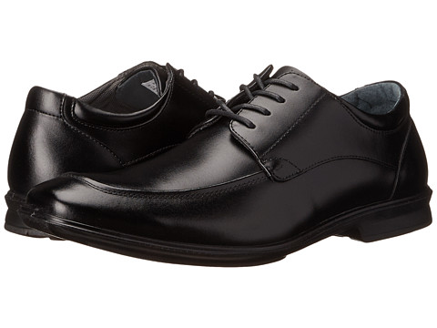 Hush Puppies - Gravity Oxford MT IIV (Black Leather) Men's Lace up casual Shoes