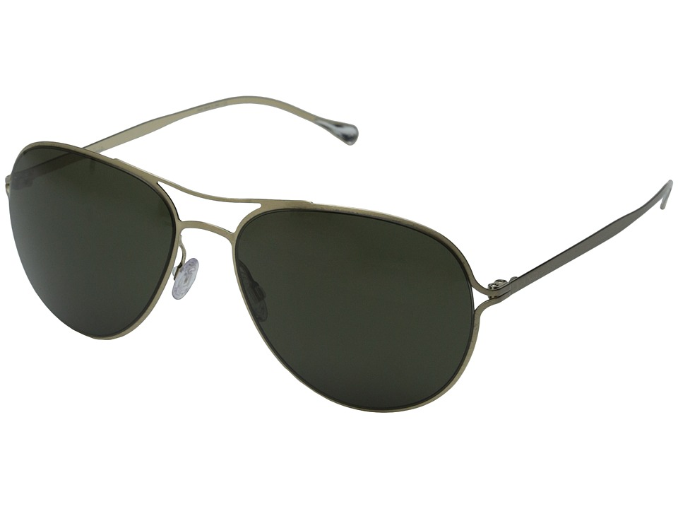 Paul Smith - Surrey (Brushed Gold/G15 Polarized) Fashion Sunglasses