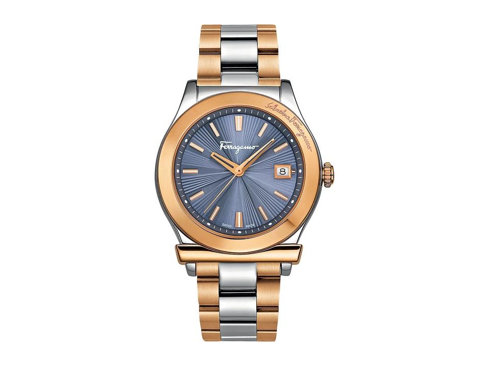 Salvatore Ferragamo - Ferragamo 1898 FF3240015 (Stainless Steel/Gold) Watches