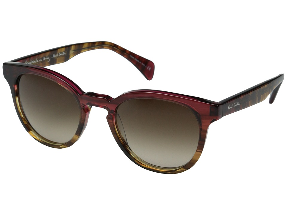 Paul Smith - Serle (Magenta Tortoise Ombre/Umber Gradient) Fashion Sunglasses