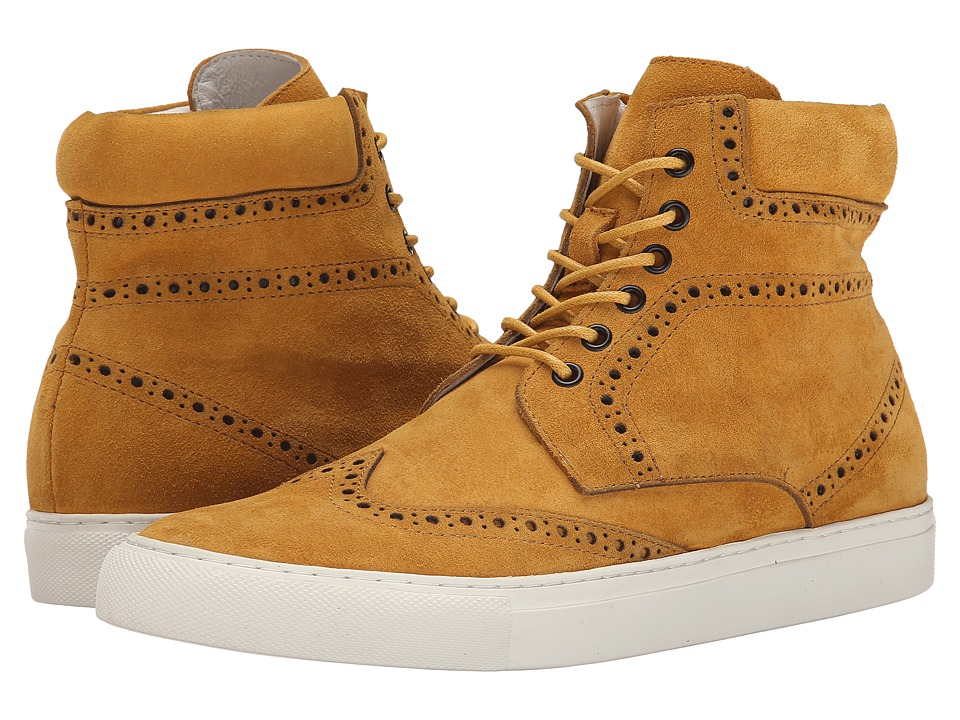 PRIVATE STOCK - The Eyrie Sneaker (Mustard Yellow) Men's Shoes