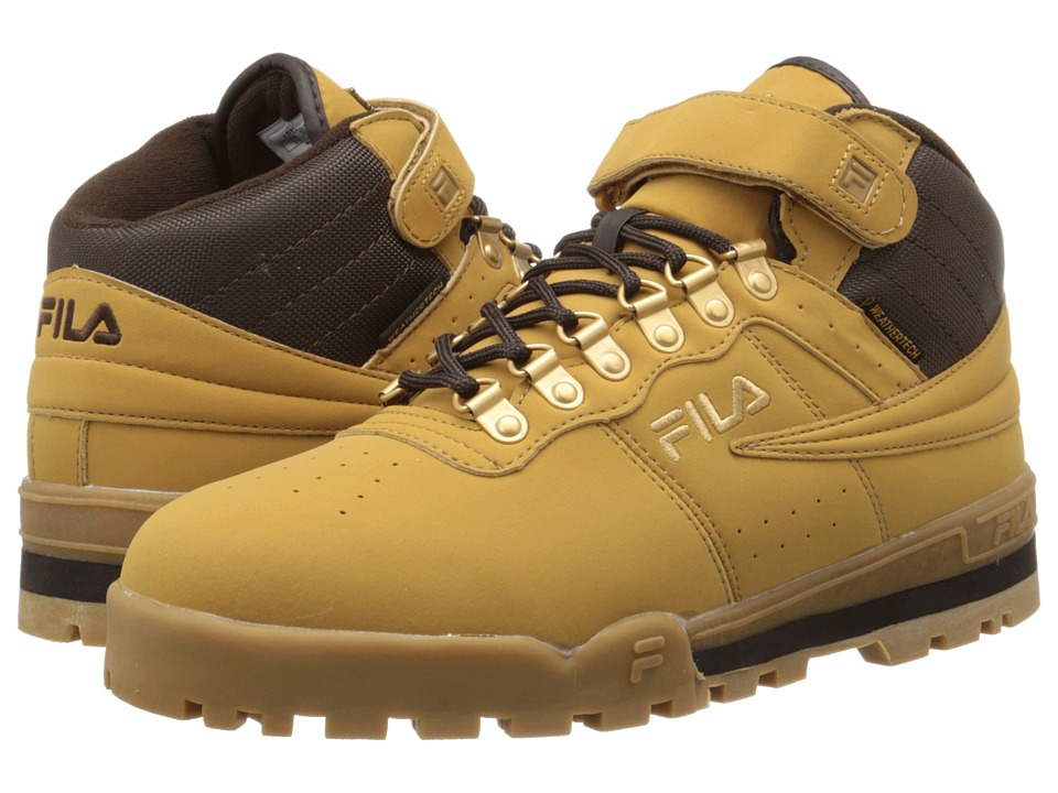 Fila - F-13 Weather Tech (Wheat/Espresso/Metallic Gold) Men's Shoes