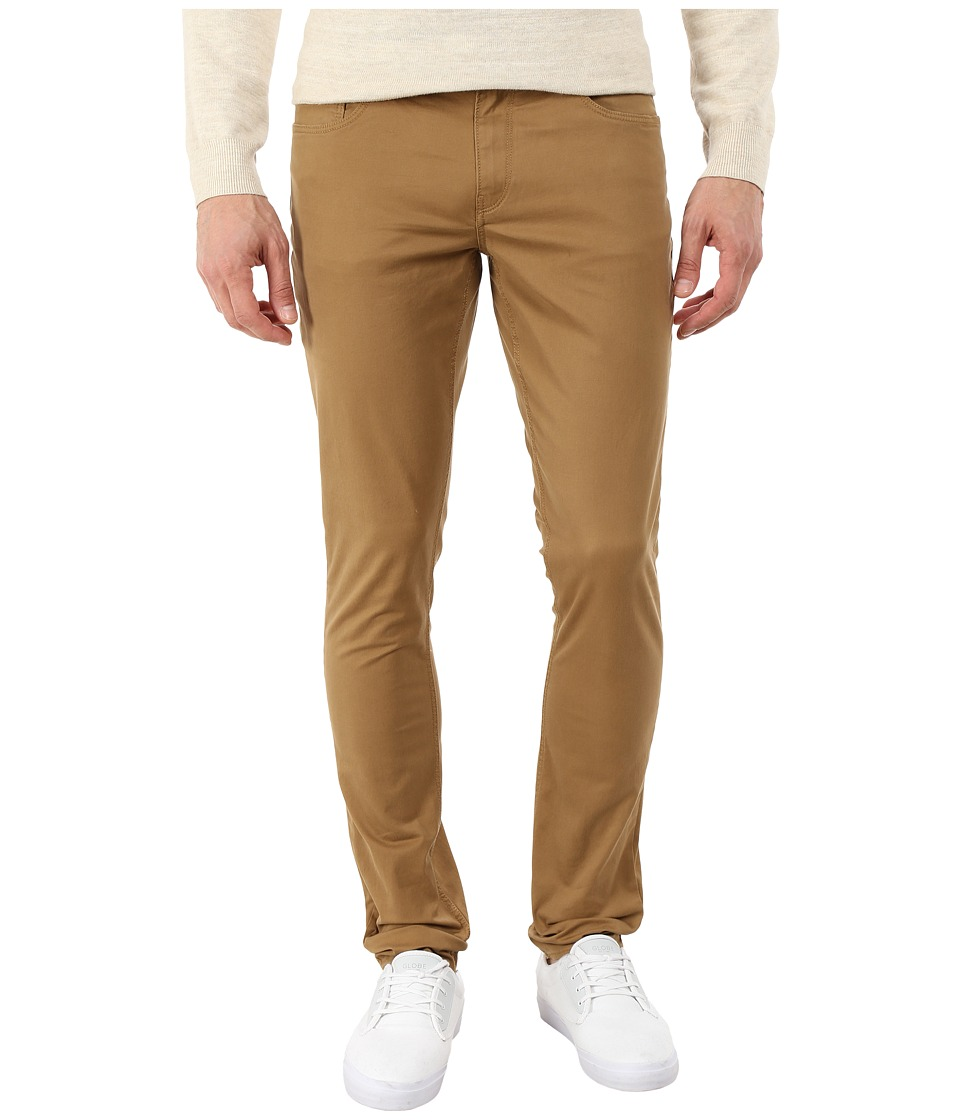 Michael Kors - Skinny Five-Pocket Twill (Husk) Men's Casual Pants