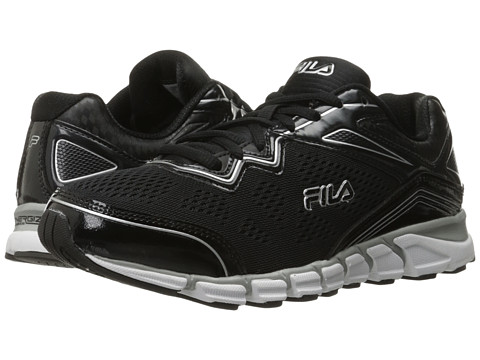 Fila - Mechanic 2 Energized (Black/Black/Metallic Silver) Men's Shoes
