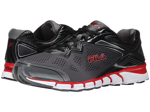 Fila - Mechanic 2 Energized (Castlerock/Black/Fila Red) Men's Shoes