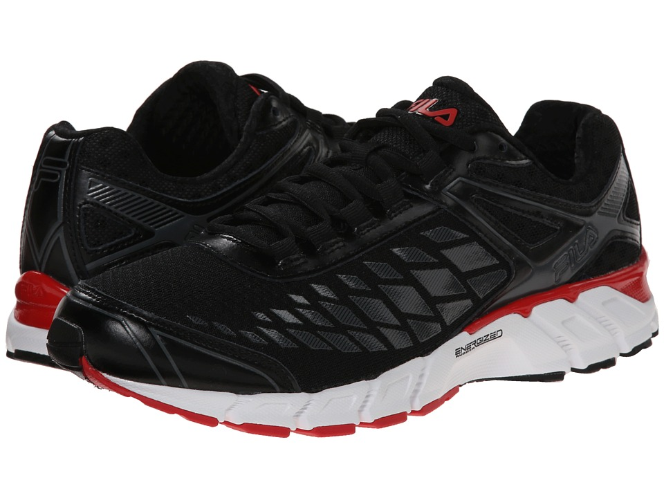 Fila Dashtech Energized (Black/Dark Shadow/Fila Red) Men