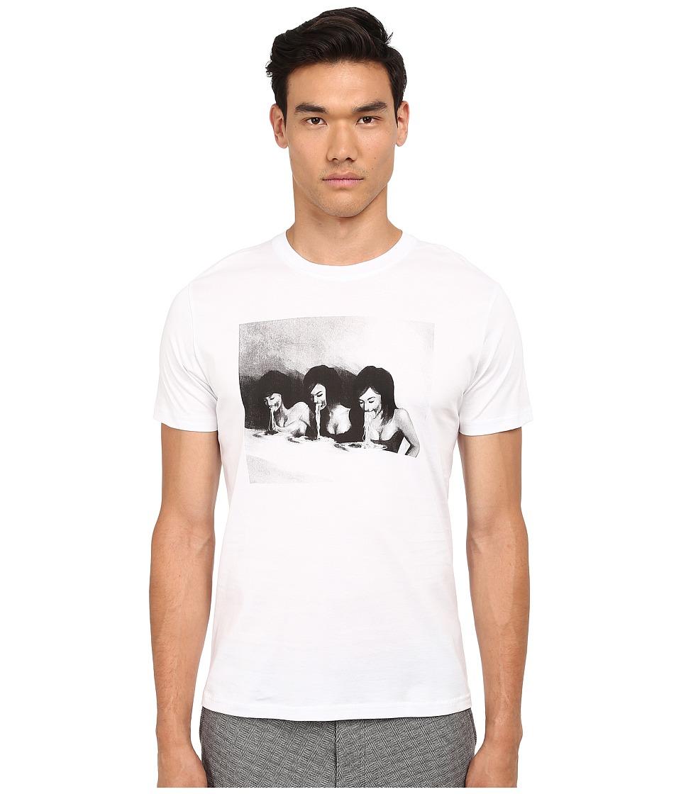 PRIVATE STOCK - The Sibyline T-Shirt (White) Men's T Shirt