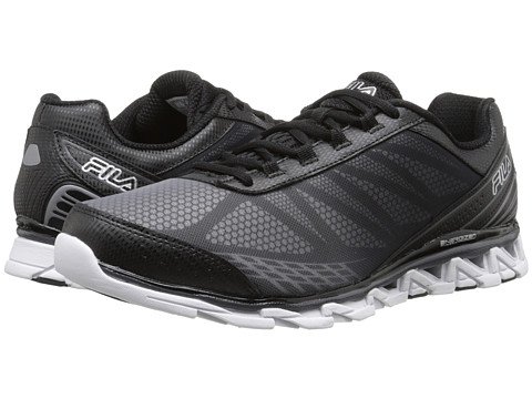 Fila - Romeo 2 Energized (Black/Black/Metallic Silver) Men