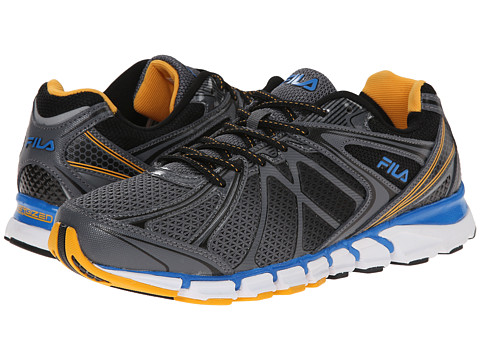 Fila - Hypnotizer 2 Energized (Castlerock/Gold Fusion/Blue) Men's Shoes