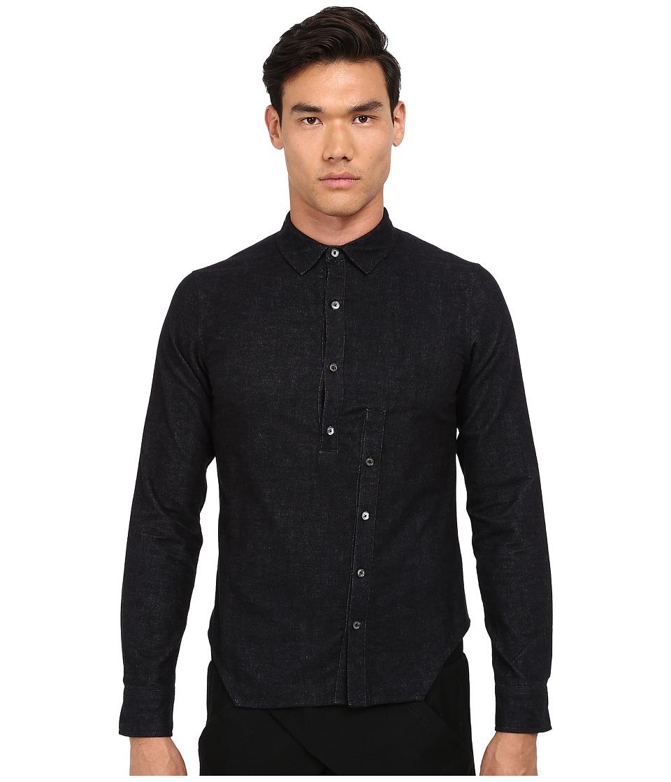 PRIVATE STOCK - The Haphazard Shirt (Black) Men's Clothing