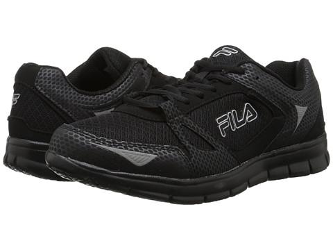 Fila - Nrg (Black/Black/Metallic Silver) Men's Shoes