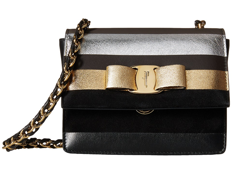 Salvatore Ferragamo - Ginny (Nero 2) Handbags