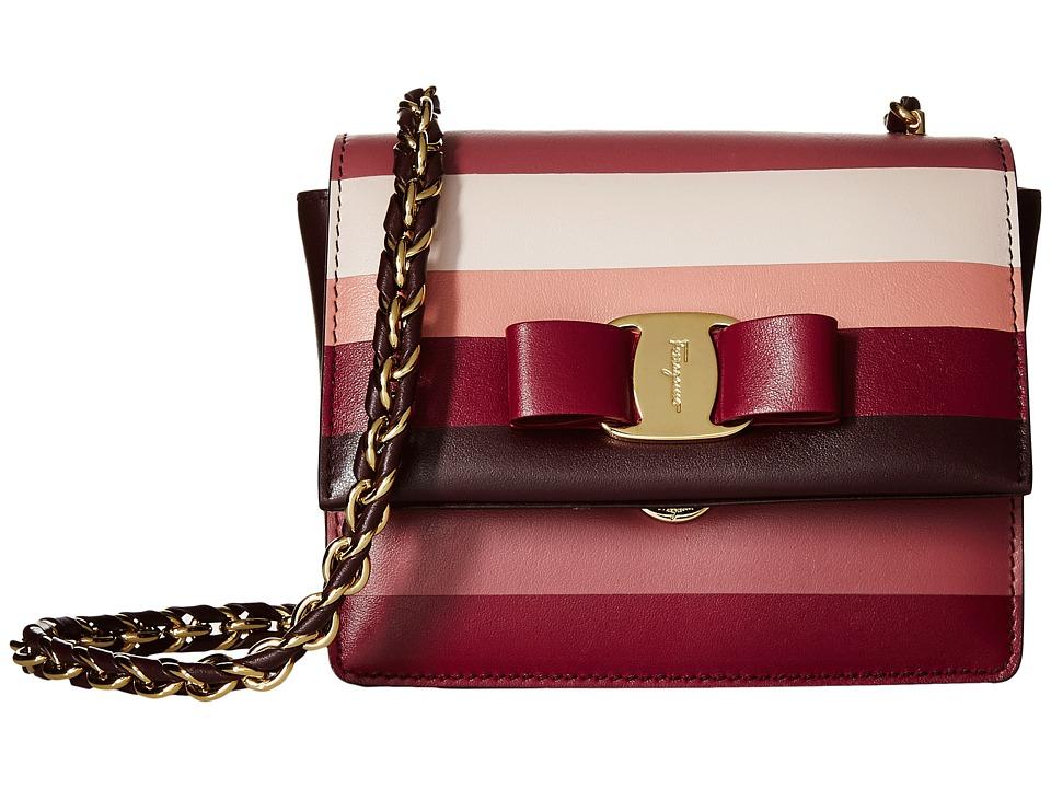 Salvatore Ferragamo - Ginny (Rouge Noir) Handbags