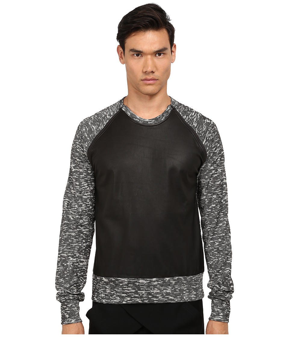 PRIVATE STOCK - The Anticipated Sweater (Black/Static) Men's Sweater