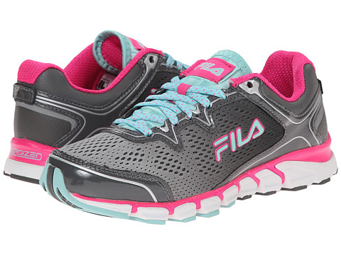 Fila - Mechanic Energized (White/Pink Gloxinia/Aruba Blue) Women's Shoes