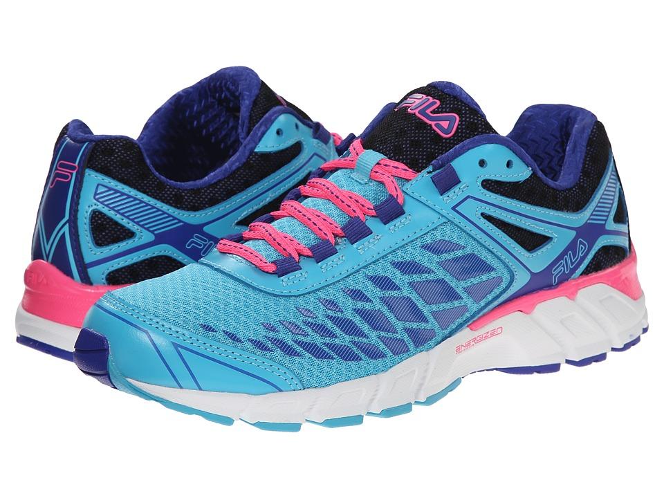 Fila - Dashtech Energized (Blue Atoll/Royal Blue/Knockout Pink) Women's Shoes