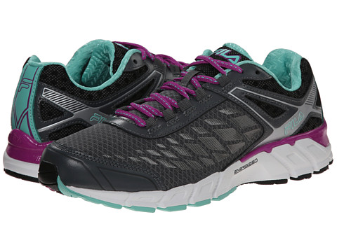 Fila - Dashtech Energized (Castlerock/Purple Cactus Flower/Cockatoo) Women