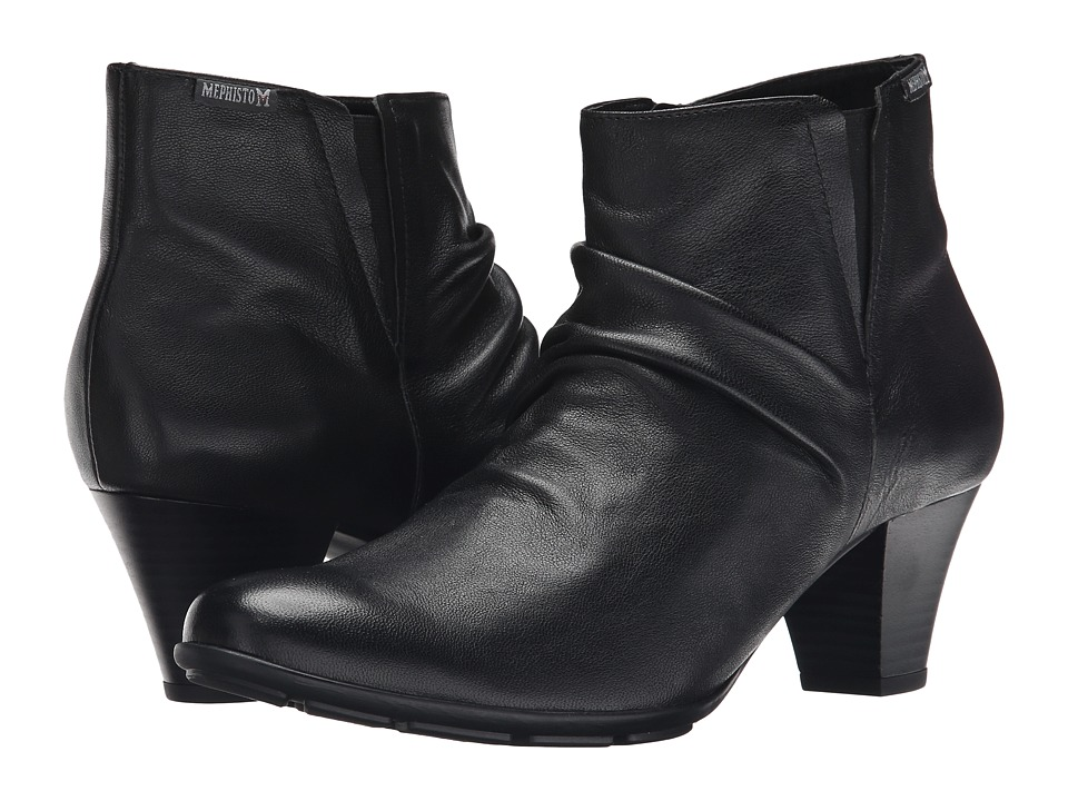 Mephisto - Belma (Black Nappa) Women's Boots