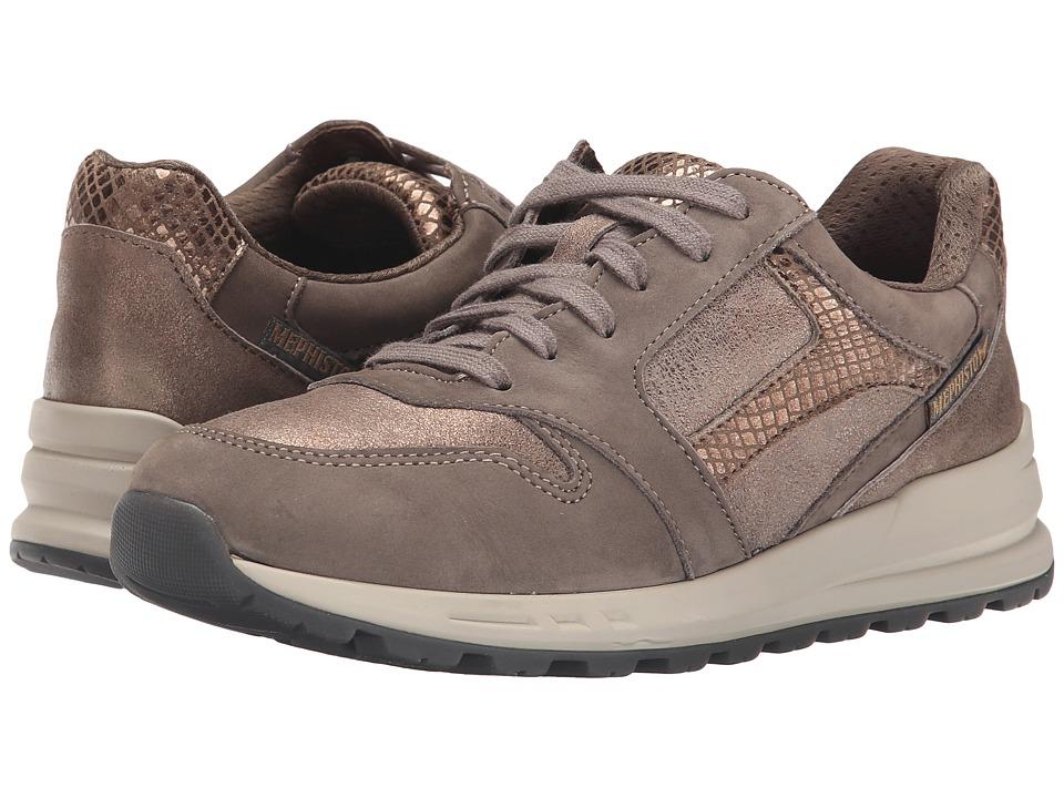 Mephisto - Cross (Black Bucksoft/Pewter Anna/Black/Leopard Patent/Leopard Velours) Women's Lace up casual Shoes