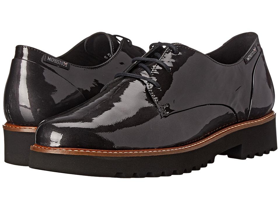 Mephisto - Sabatina (Grey Patent) Women's Shoes