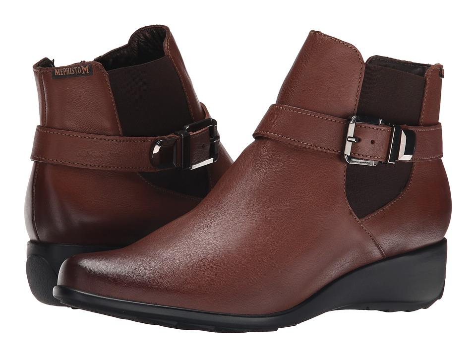Mephisto - Stefania (Hazelnut Texas) Women's Boots