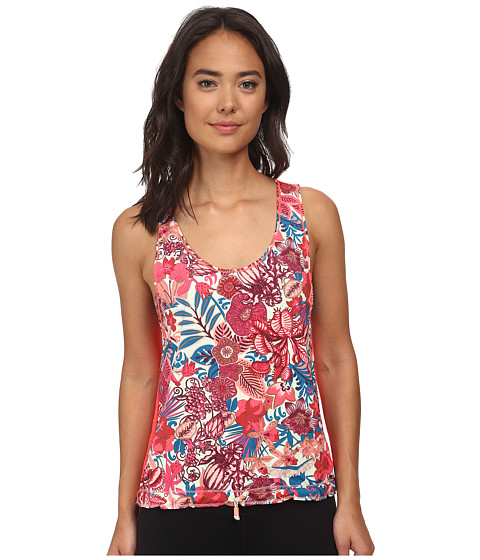 Maaji - Blooming The Sky Hibiscus Blush Tank Top (Multi) Women