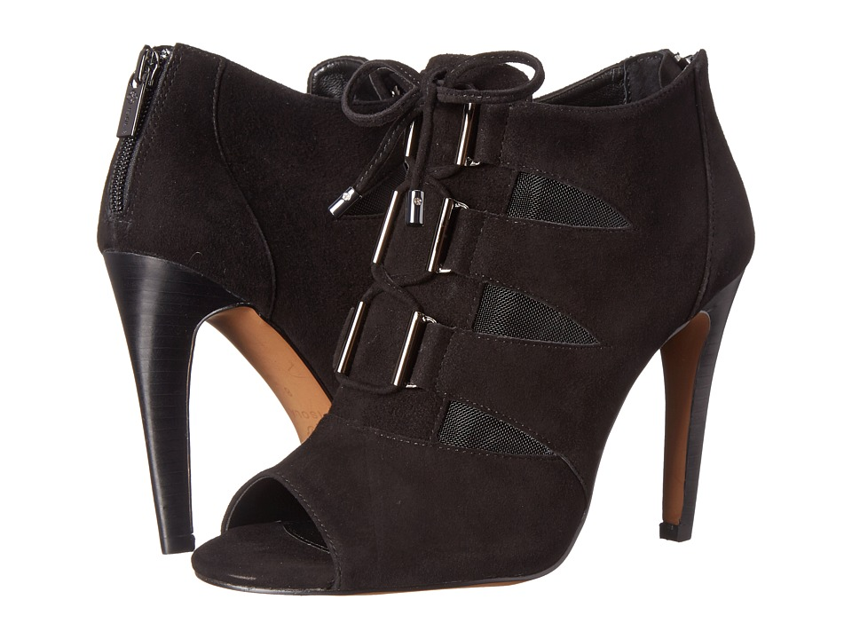 Isola Brinly (Black King Suede/Mesh) High Heels