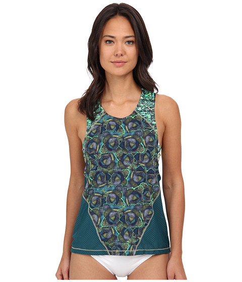 Maaji - Hunter Teal Top (Multi) Women's Swimwear