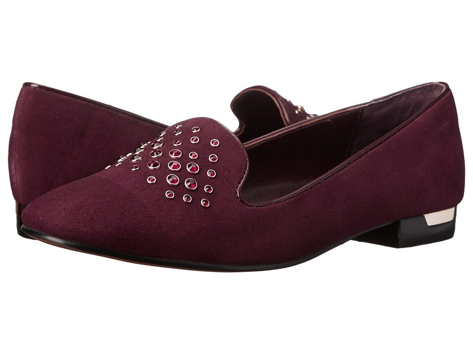 Isola - Risa (Bordo King Suede) Women's Slip-on Dress Shoes