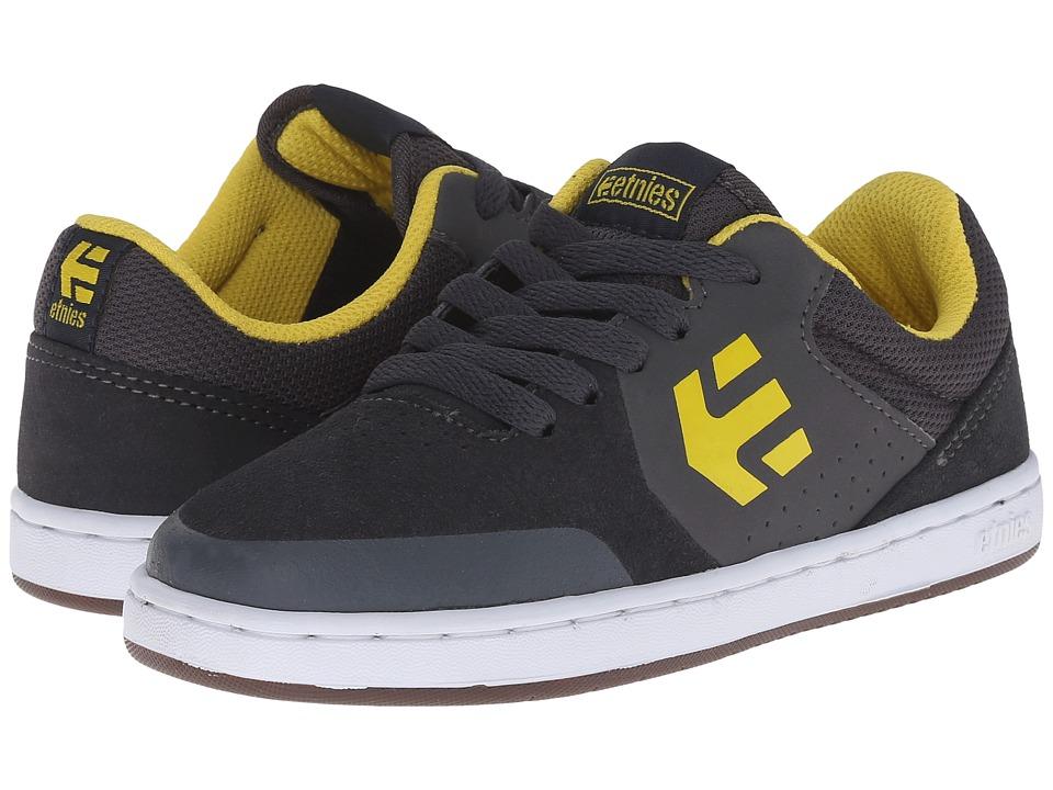 etnies Kids - Marana (Toddler/Little Kid/Big Kid) (Grey/Yellow) Boys Shoes