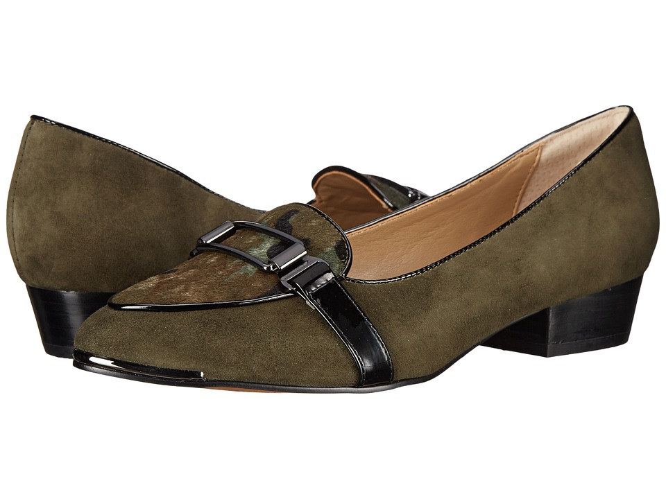 Isola Brenda (Hunter Green/Camoflage King Suede) Women