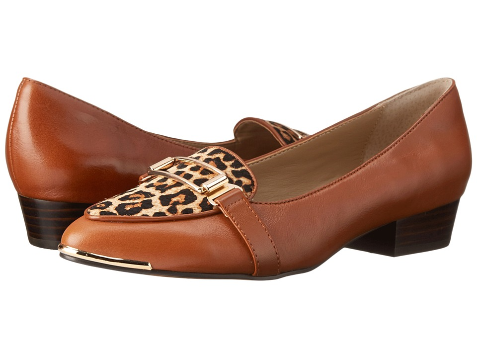 Isola - Brenda (Luggage/Tan Leopard Panarea) Women's 1-2 inch heel Shoes