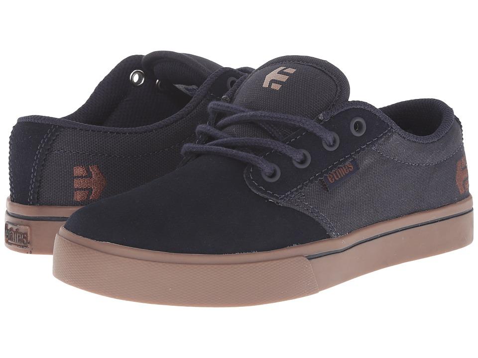 etnies Kids - Jameson 2 Eco (Toddler/Little Kid/Big Kid) (Dark Blue/Gum) Boys Shoes