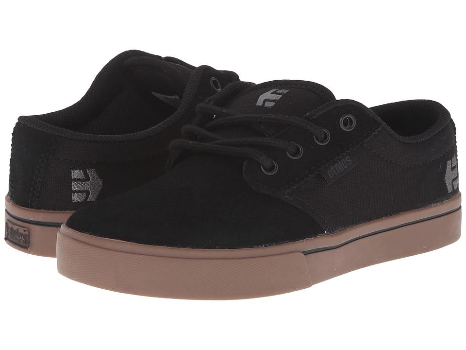 etnies Kids - Jameson 2 Eco (Toddler/Little Kid/Big Kid) (Black/Gum/Dark Grey) Boys Shoes