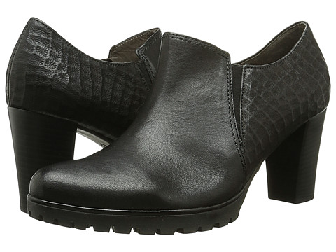 Gabor - Gabor 35.251 (Black Tropic Oil/Bruciato) Women's Dress Pull-on Boots