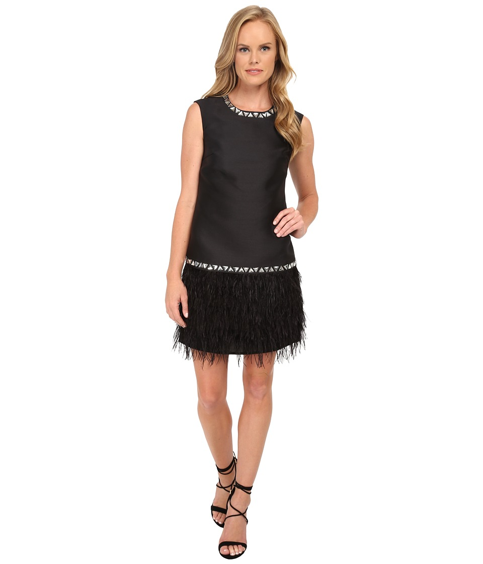 Shoshanna Janessa Dress (Jet) Women