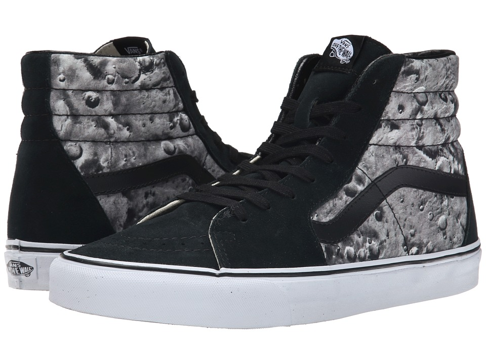 Vans - SK8-Hi ((Moon) Black/ White) Skate Shoes