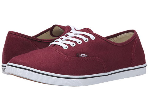Vans - Authentic Lo Pro (Windsor Wine) Skate Shoes