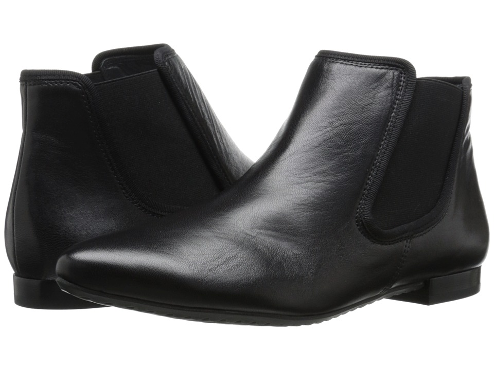 Paul Green - Danni BT (Black Leather) Women's Boots