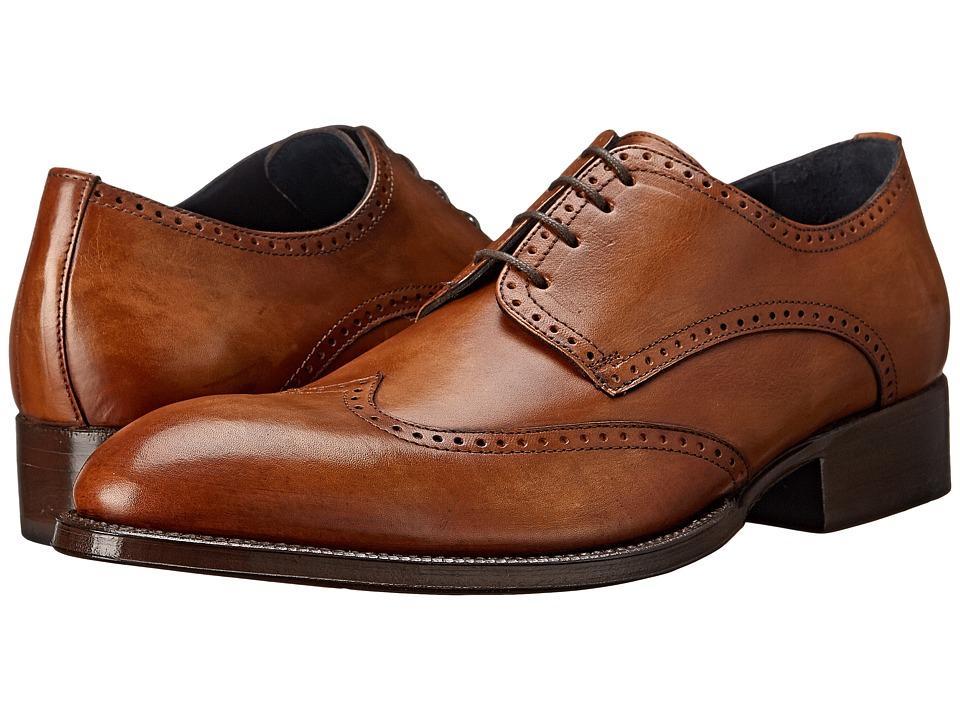 Messico - Refugio Welt (Vintage Honey Leather) Men's Flat Shoes