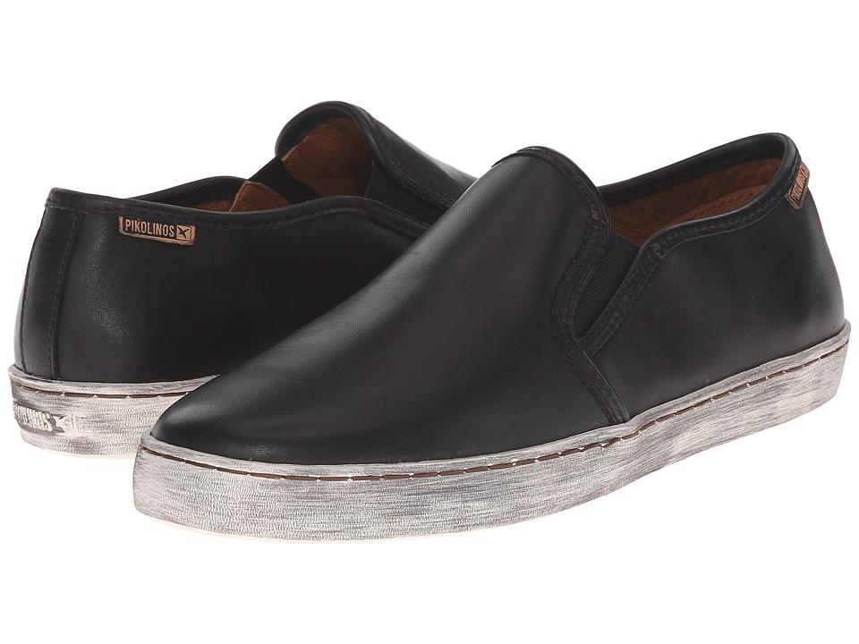 Pikolinos - Yorkville W0D-3535 (Black) Women's Slip on Shoes