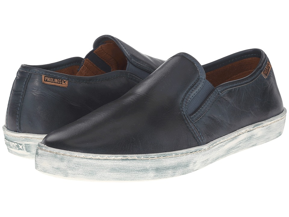 Pikolinos - Yorkville W0D-3535 (Deep Blue) Women's Slip on Shoes