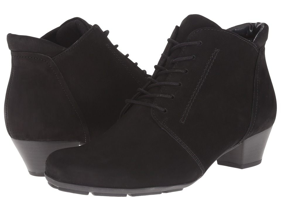 Gabor - Gabor 35.631 (Black Nubuck Oil) Women